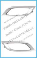 Рамка противотуманной фары Mazda 3 BL (09-12) USA седан/хетчбек - правая (FPS) BDL45DC12