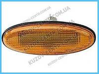 Указатель поворота на крыле Mazda 626 '97-02 (GF) левый/правый, желтый (DEPO)