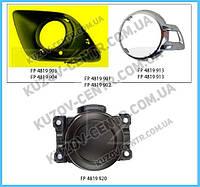 Решетка бампера Mitsubishi ASX 10-13 под ПТФ, левая (FPS) без хрома 8321A387