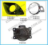 Решетка бампера Mitsubishi ASX 10-13 под ПТФ, правая (FPS) без хрома 8321A388