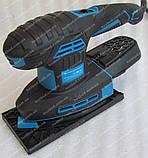 Вибрационная шлифмашина Kraissmann 250 MS-A 12 (2 платформы), фото 2