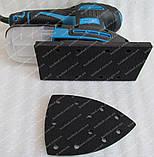 Вибрационная шлифмашина Kraissmann 250 MS-A 12 (2 платформы), фото 3