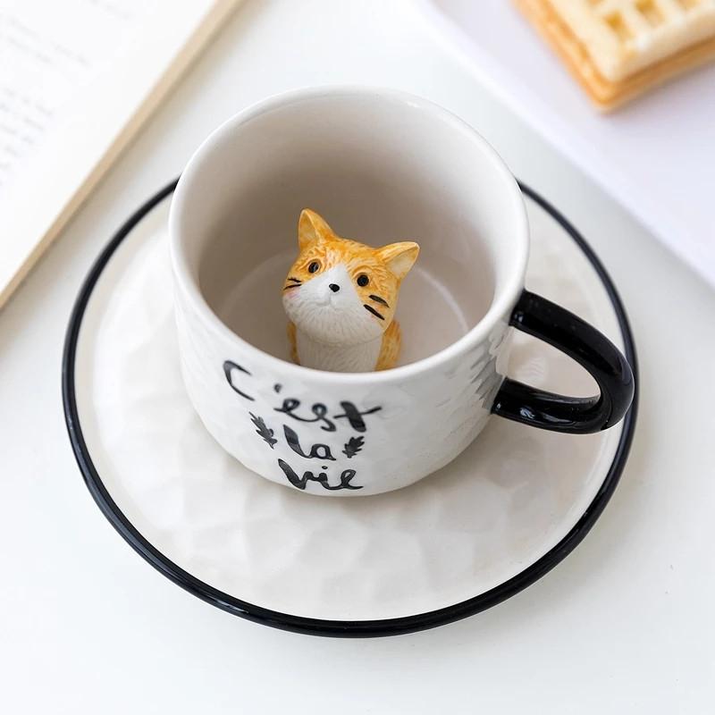 "Чашка ""Котик - Сюрприз"", 150 ml"
