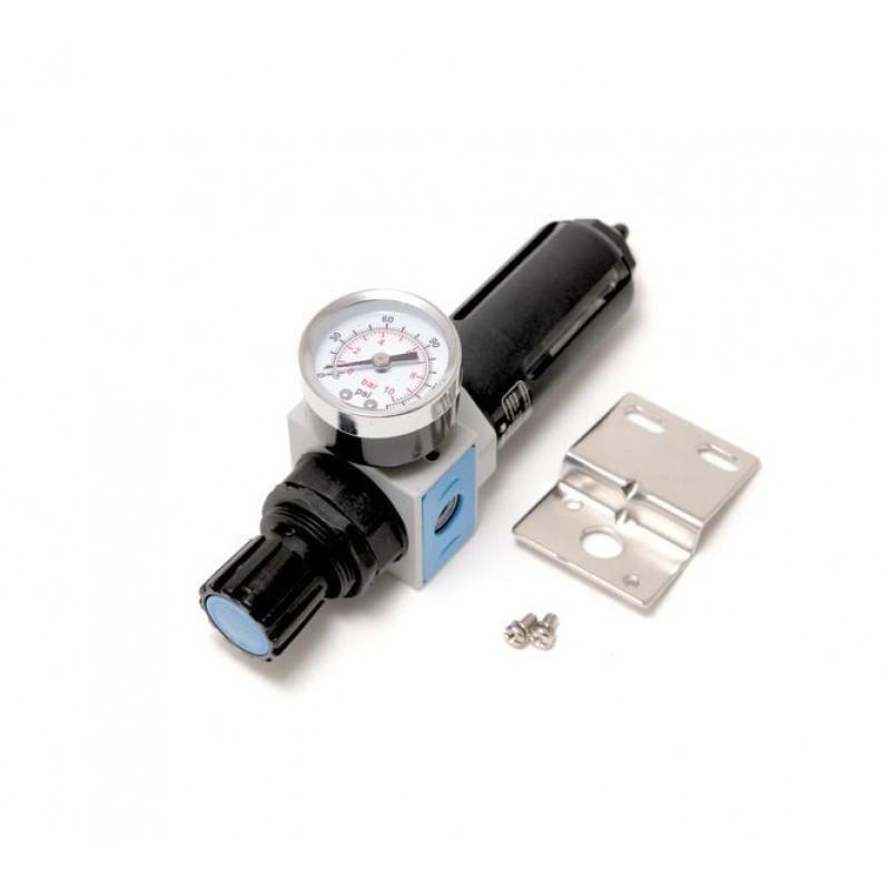 """Фильтр-регулятор с индикатором давления для пневмосистем 1/4"""""""