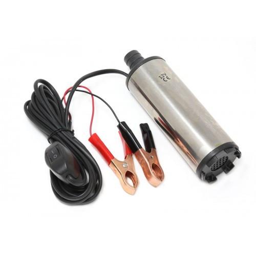 Насос для перекачки топлива (24V, 60W, 30л/мин, Ø51мм, Ø выходного отв. 19мм)