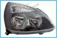 Фара Renault Clio 01-05 / Symbol 01-12 левая (FPS) механическая, черная 7701051769