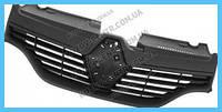Решетка радиатора Renault Logan / Sandero 13-17 (FPS) черная 623105727R