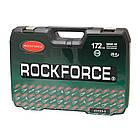Набор инструментов 172пр. 1/4'', 3/8'', 1/2''(6гр.)(4-32мм) RockForce, фото 2