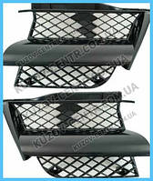 Решетка радиатора Mitsubishi Outlander 03-07 правая (FPS) MN133230