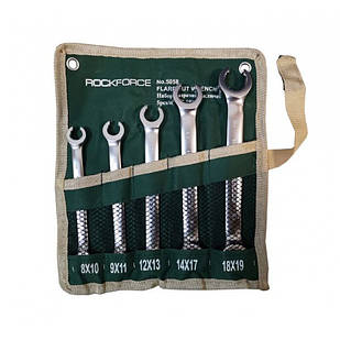 Набір ключів розрізних 5пр(8х10,9х11,12х13,14х17,18х19мм),на полотні