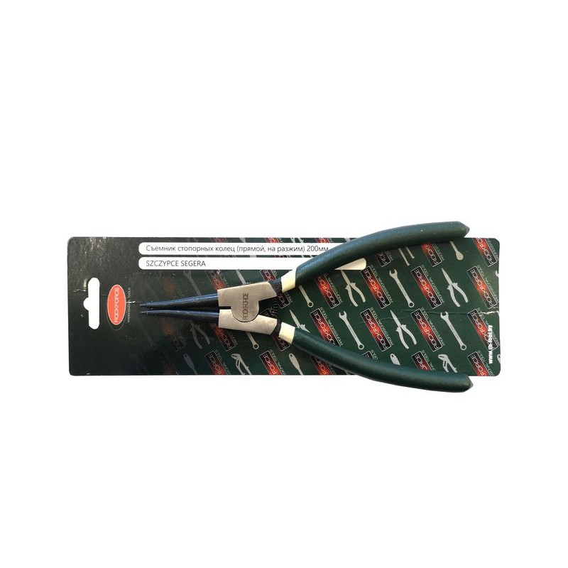Съемник стопорных колец прямой на разжим (L-280 мм), в блистере
