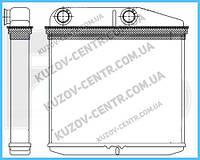 Радиатор печки Fiat Fiorino, Qubo, Citronen Nemo, Peugeot Bipper (08-17) (AVA)