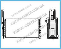 Радиатор печки Ford Escort / Sierra (FPS) FP 28 N20