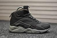 Кроссовки мужские Grey. Мужские кроссовки зима серые., фото 1