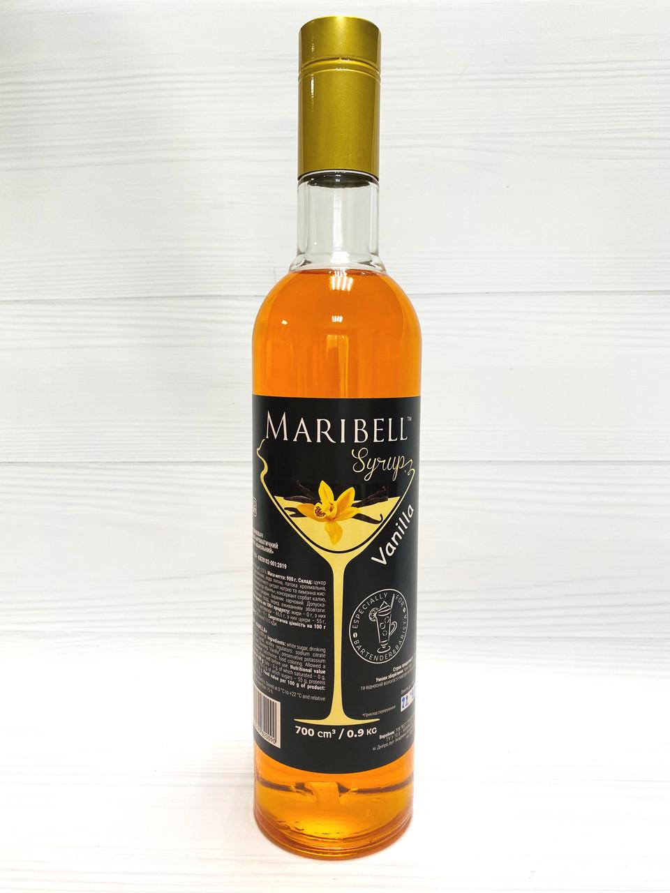 Сиропы Maribell ( Kava ) Ваниль - 700 мл.