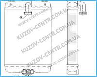 Радиатор печки Mercedes 202 1993-2000 (C-CLASS)