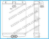 Радиатор печки Mercedes-Benz W202 (AVA) FP 46 N124-X