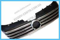 Решетка радиатора VW Passat B7 Европа 10-14 с хром ребрами (FPS) 3AA8536510QE
