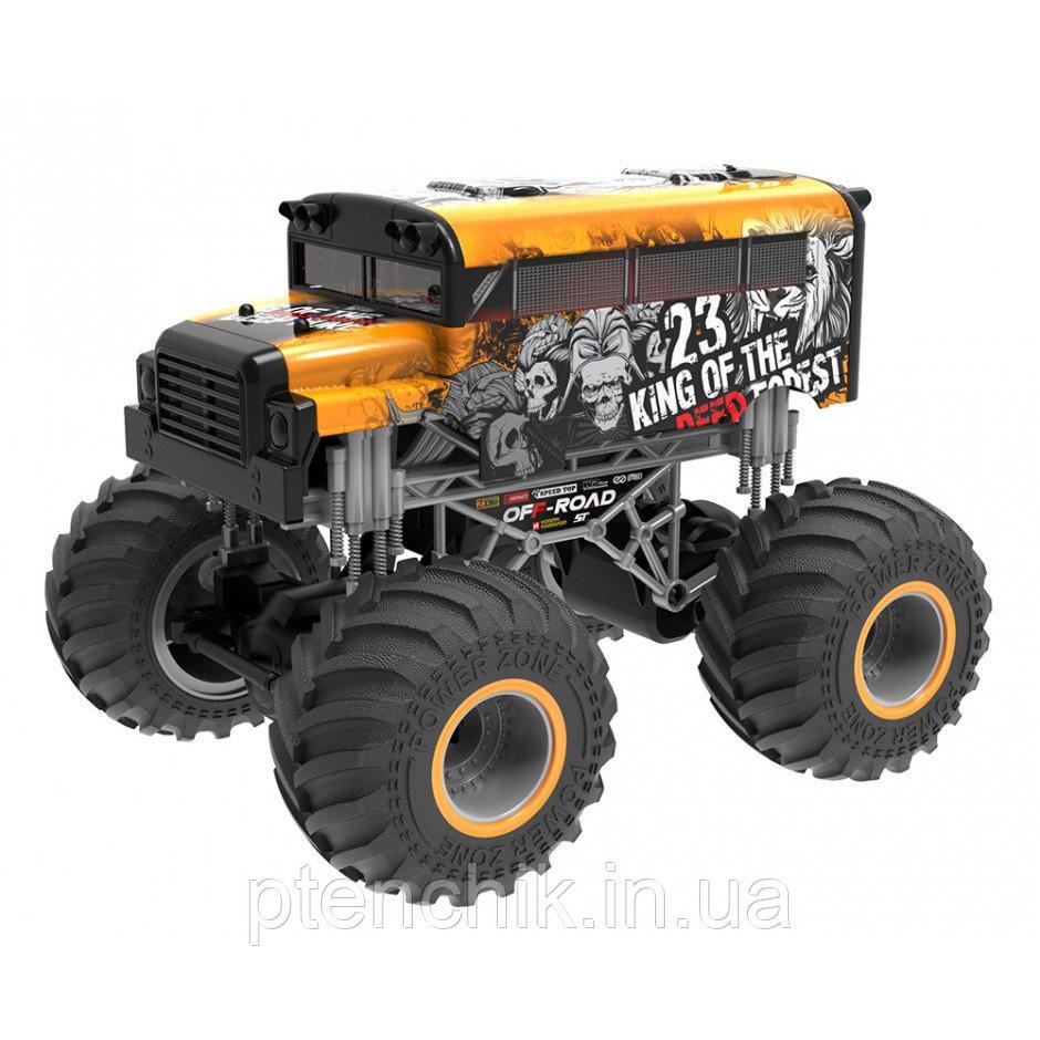 Crazon Автомобиль на радиоуправлении Король леса 1:16 Оранжевый