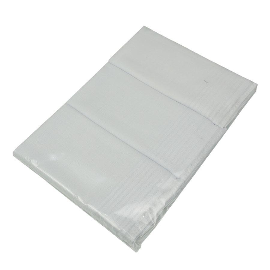 Набор  белых мужских носовых платков EGA из 3 шт. СН-727/3 С