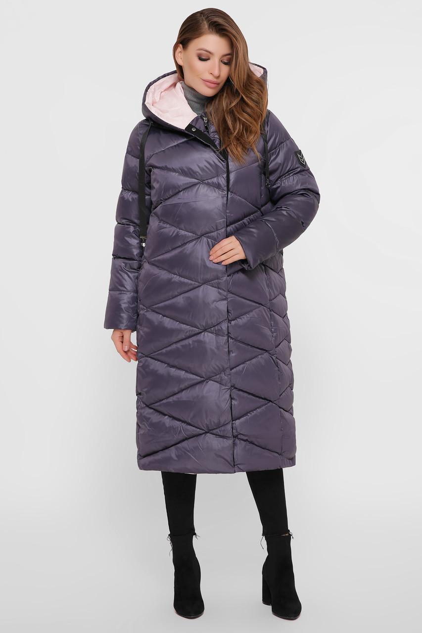 Зимняя женская удлиненная куртка  Размеры XL, 2XL, 3XL, 4XL, 5XL