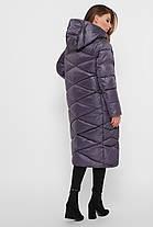 Зимняя женская удлиненная куртка  Размеры XL, 2XL, 3XL, 4XL, 5XL, фото 3