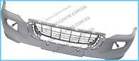 Передний бампер VW Crafter (06-11) c отв. ПТФ, без решетки (FPS) 2E0807103
