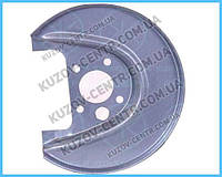 Левая защита тормозного диска VOLKSWAGEN BORA (1999-2005)