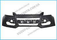 Передний бампер Ford Kuga II 13-16 (FPS) с отв. под п/троник - Китай DV4517F775A