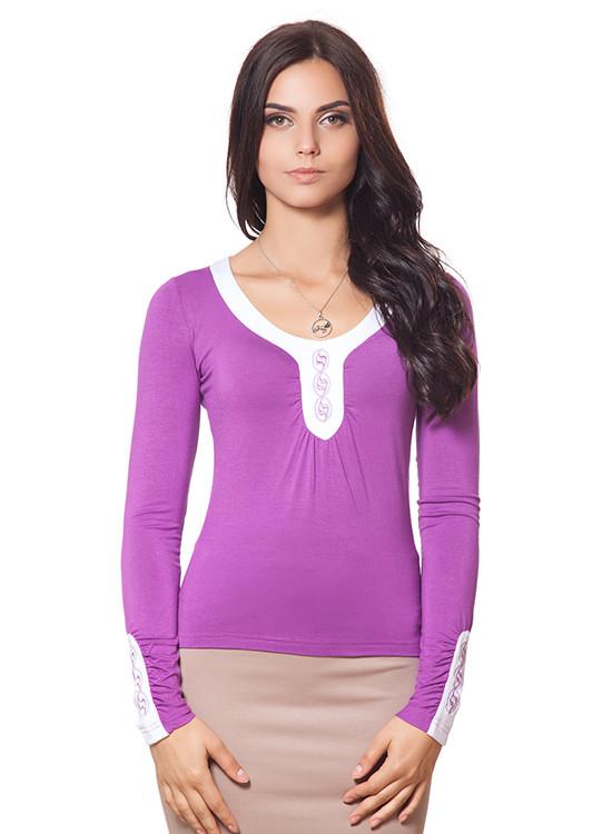 Женский трикотажный пуловер (размеры S, M)