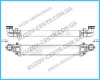 Интеркулер MERCEDES 211 02-09 (E-CLASS)