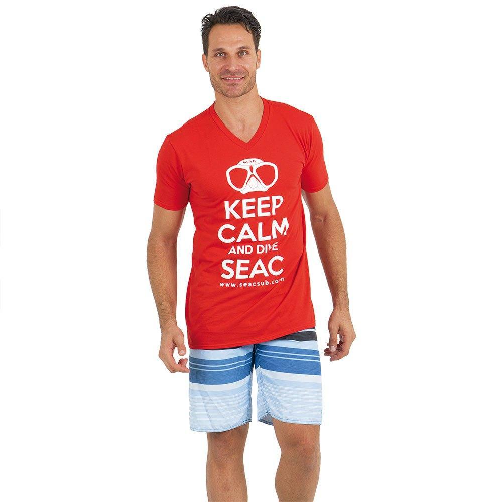 Футболка Seac Keep Calm (Червоний)