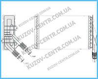 Радиатор печки Renault Kangoo (NRF) FP 56 N158-X