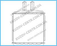 Радиатор печки Chevrolet Lacetti (FPS) FP 17 N180-P