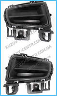 Решетка бампера Mazda 6 06-08 заглушка ПТФ, правая (FPS) GR1A50C11