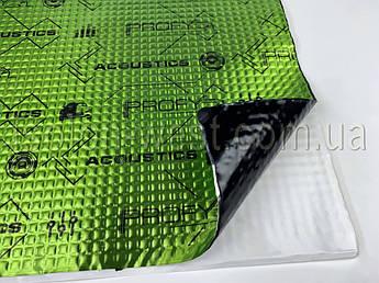Виброизоляция Acoustics PROFY А1, 70x50 cм, толщина 1.8 мм (лист 0,375 м2)