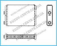Радиатор печки Fiat Doblo 2001-2009 (FPS)