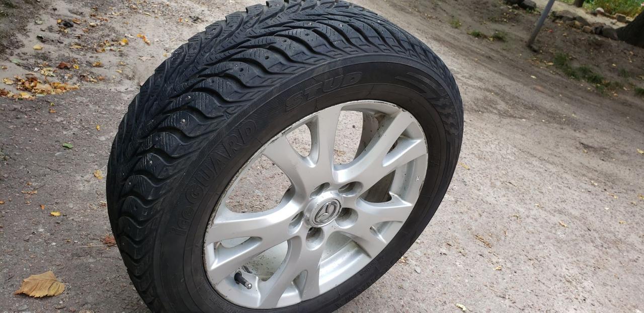 Оригинальные литые диски Mazda 6, mazda 3, R16, ET55, 5x114,3