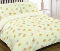 Комплект постельного белья детский цветной, размер наволочки 60*60 см