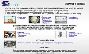 Гідромасажний бокс Serena EW-2233G 1000х1000х2150, фото 2