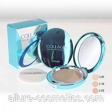 Зволожуюча колагенова пудра зі змінним блоком Enough Collagen Hydro Moisture Two Way Cake including Refill 23