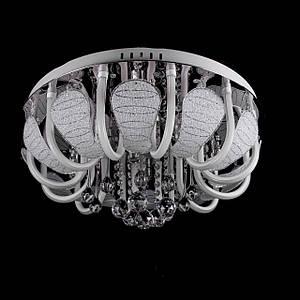 "Люстра ""торт - классика"" с LED подсветкой на пульте управления на 8 лампочек P5-Y1502/8+12/CH"