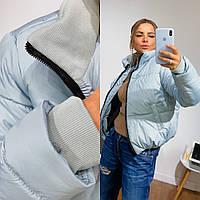Женская молодежная короткая объемная  куртка. Цвета!, фото 1
