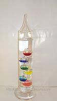Термометр декоративный стеклянный высота 22 см