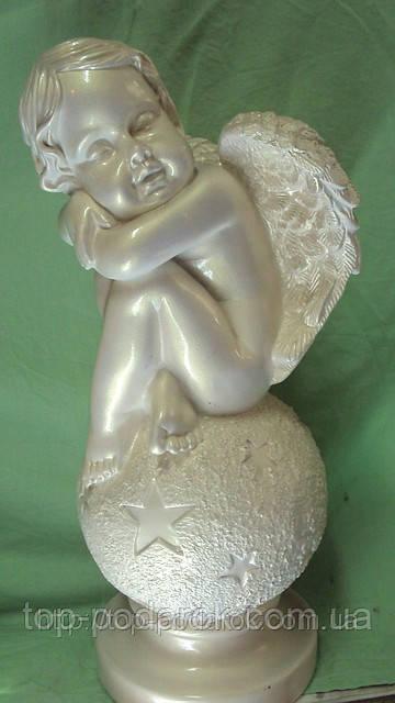 Статуэтка ангел на шаре размер 40*19
