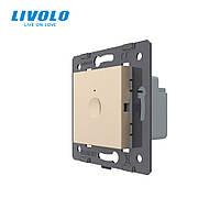 Механизм сенсорный выключатель Livolo Sense золотой (782000113)