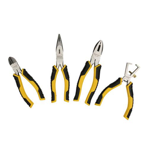 Набор из четырех шарнирно-губцевых инструментов DYNAGRIP STANLEY STMT1-74179