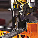 Сверло по металлу EXTREME2 кобальтовое HSS-CO 11.5x142x91 мм упаковка 5 штук DeWALT DT4946, фото 5