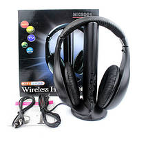 Наушники 5 в 1 + FM радио Wireless Bluetooth, фото 2