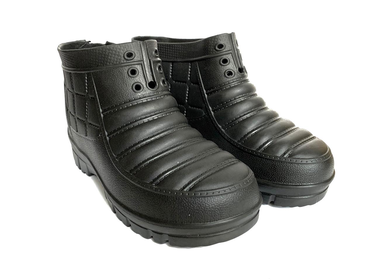 Мужские галоши 42-43р, галоши пена, мужская обувь EVA ЭВА из пенки, галоші, садові галоші